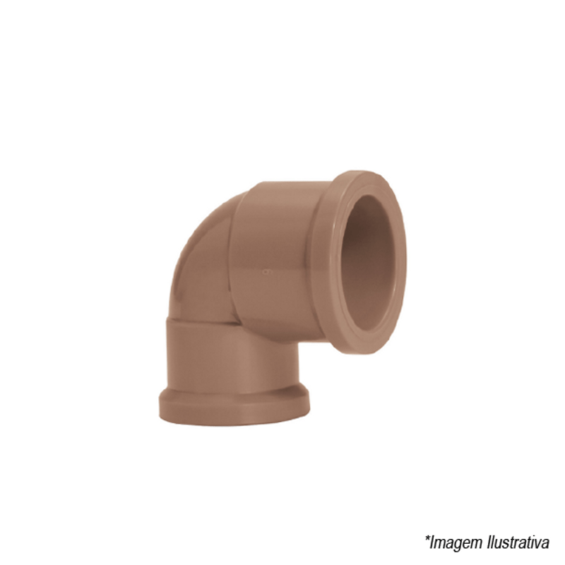 Joelho Redução 90º PVC Soldável | 32x25mm | 1
