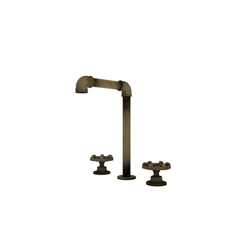 Misturador de Banheiro para Lavatório com Bica Alta Estilo Industrial Living - Fani